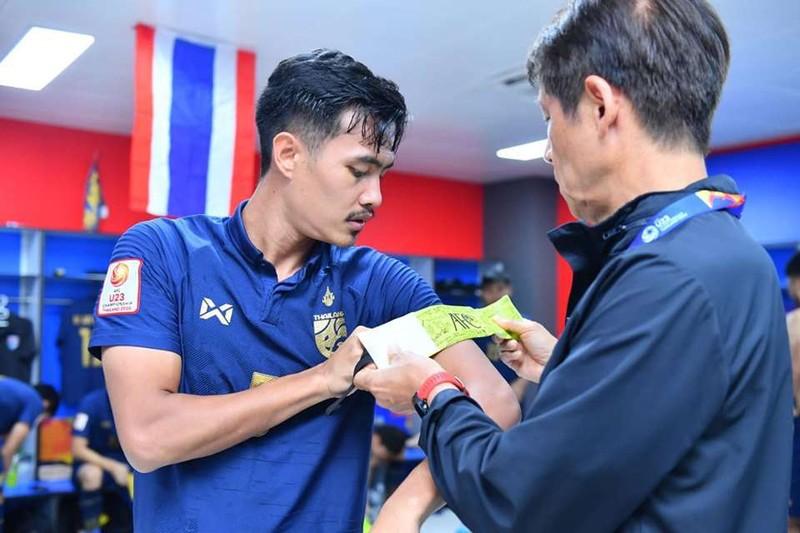Thai Lan trinh lang chiec bang doi truong dac biet nhat lich su giai U23 chau A