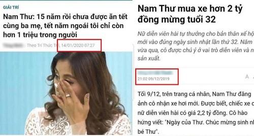 Quan ly Nam Thu len tieng sau khi bi to drama hoa cuoc song