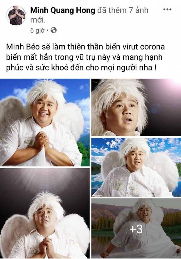 Minh Beo bi nem da vi dang anh gia thien than xua duoi virus corona