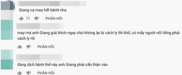 Truong Giang phai len tieng giai thich khi bat ngo ho lon tai truong quay