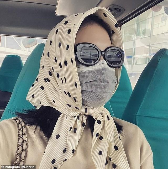 Len bao Anh vi deo khau trang, Linh Rin phai cam on ban trai