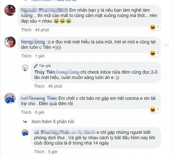 Thuy Tien cuoi muon sang vi co dan mang inbox xin tien di sua mui-Hinh-6