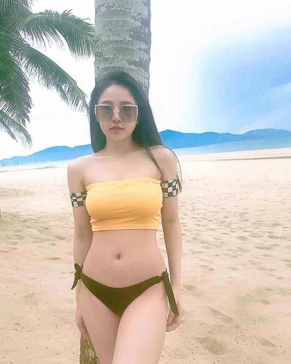 Giam can gian nan nhu hot girl Tram Anh