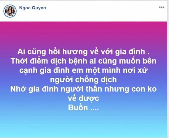 Ngoc Quyen co don vi mot minh noi xu nguoi giua mua Covid-19-Hinh-3