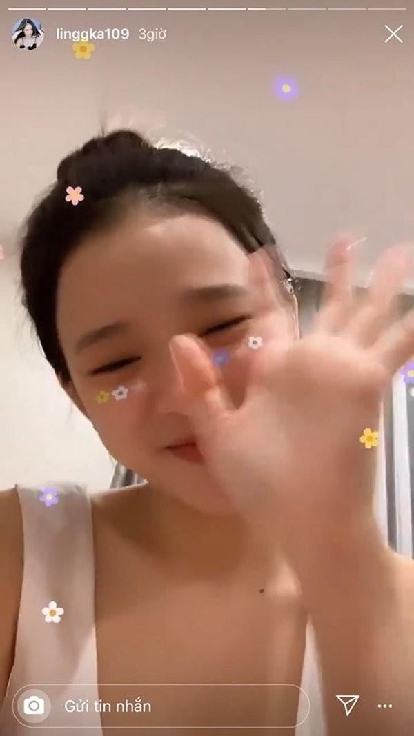 Hot girl Linh Ka khoe mat moc xinh hon ca khi to son phan-Hinh-6