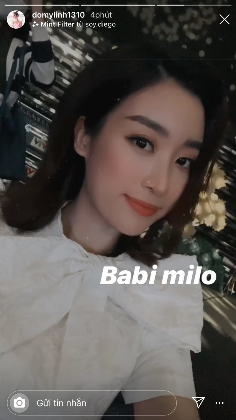 Hoa hau Do My Linh than lam dep that kho nhung day la cach hay-Hinh-2