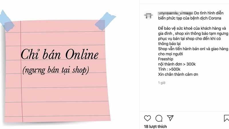 Shop thoi trang cua dong then cai, keo khach mua online