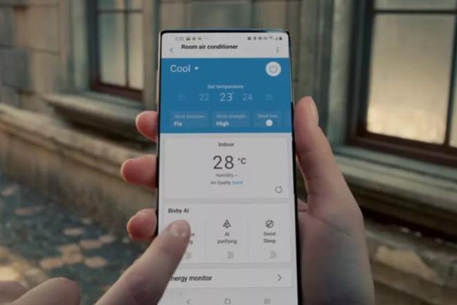 Quang cao dieu hoa, Samsung de lo Galaxy Note20 Ultra?