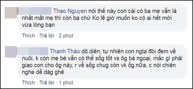 Thanh Thao bi chi trich 'vo duyen' khi khuyen tinh cu Mai Phuong-Hinh-7
