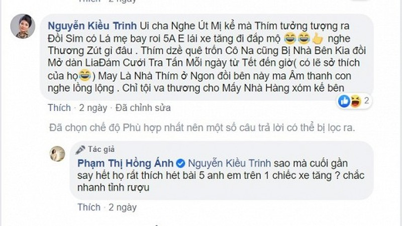 Trinh Kim Chi, Hong Anh... bi hang xom hat karaoke lam phien-Hinh-3