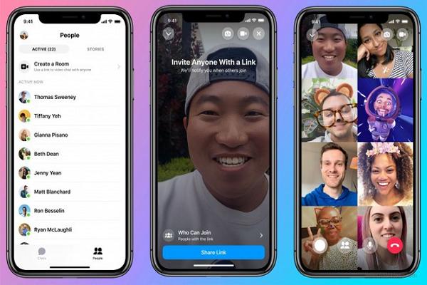 Facebook ra mat tinh nang tuong tu Zoom tren nen tang Messenger