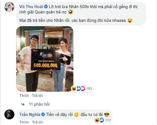 Vua gianh giai 500 trieu dong, MC Thu Hoai voi vang mang di tra no-Hinh-3