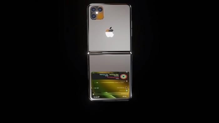 iPhone 12 Flip voi man hinh gap dep khong ty vet, 4 camera sau