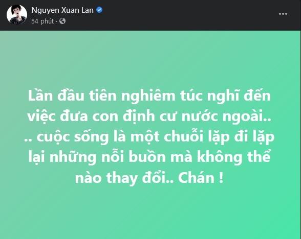 Khuyen Xuan Lan dua con ra nuoc ngoai, Phi Nhung bi len an-Hinh-2