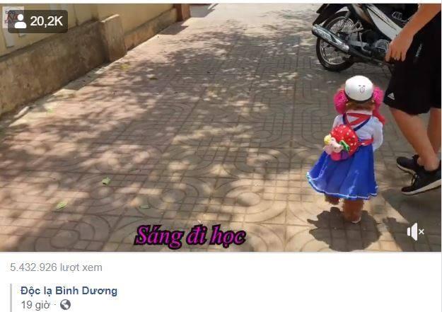 Phat cuong co cho di bang 2 chan o Binh Duong