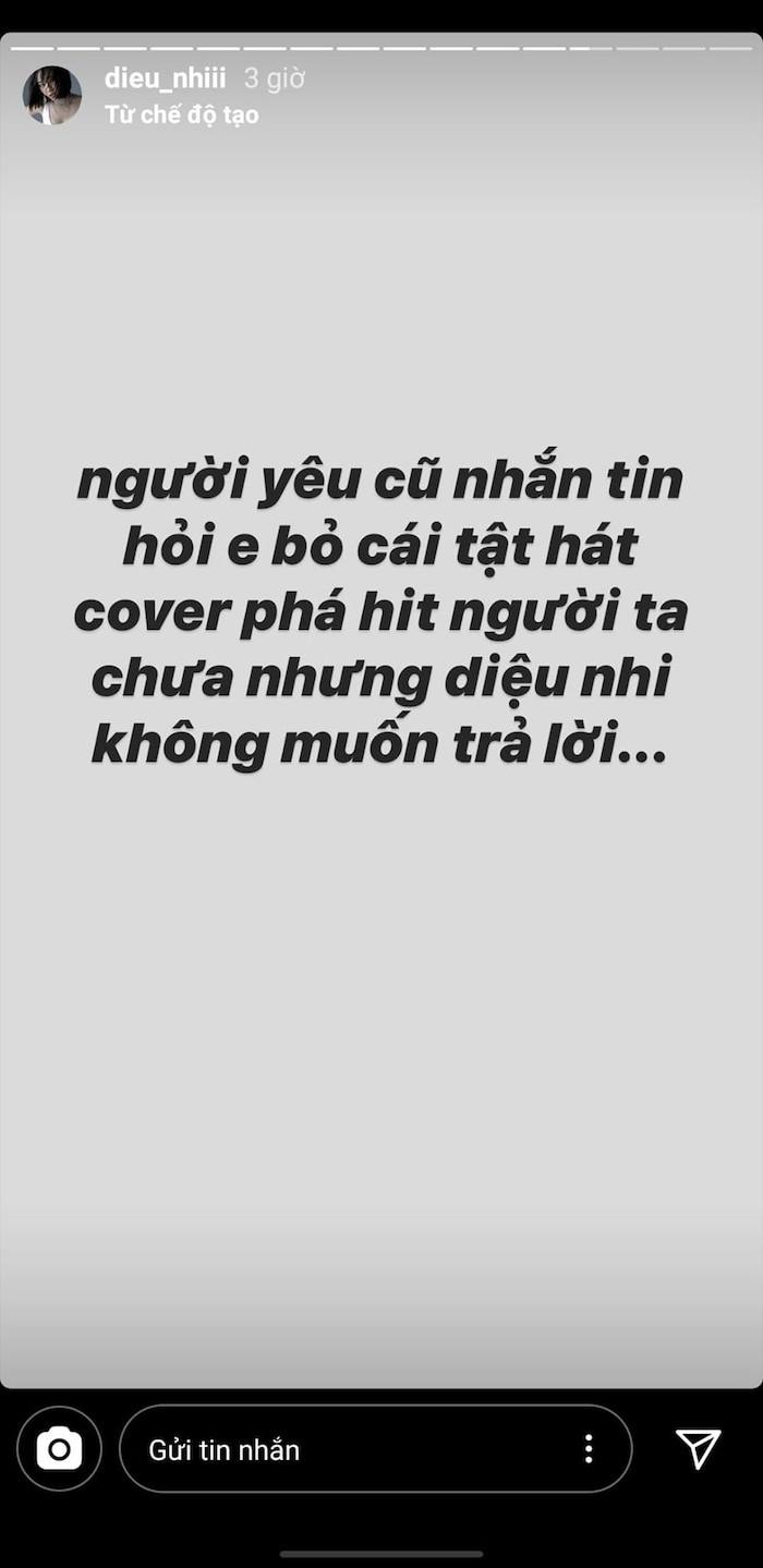 Dieu Nhi muon lien bai moi cua Bich Phuong de tra loi fan-Hinh-2