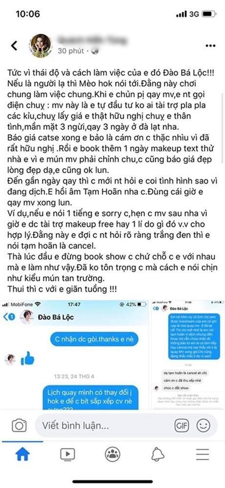 Dao Ba Loc bi chuyen vien trang diem to dong danh, nuot loi