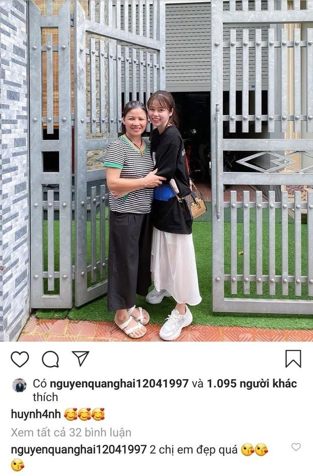 Quang Hai da dua ban gai moi ve ra mat gia dinh