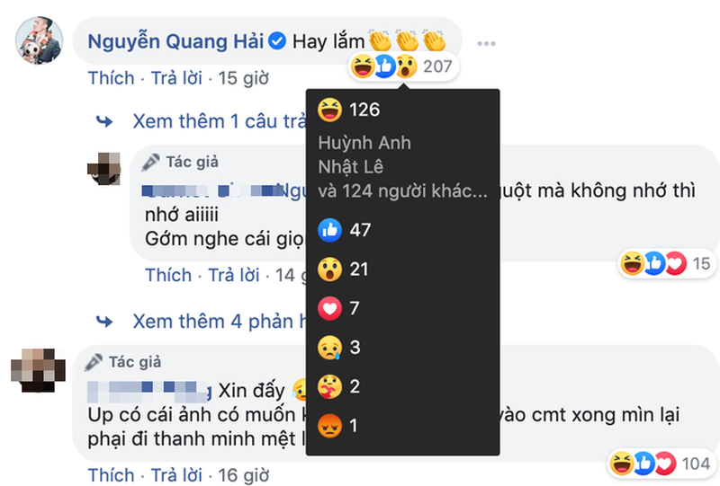 Huynh Anh xoa trang thai 'Dang hen ho' voi Quang Hai o Facebook-Hinh-3