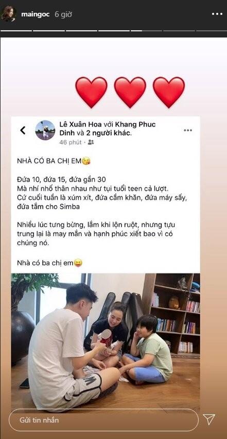 Danh tinh hai cau em trai kem 20 tuoi cua MC Mai Ngoc