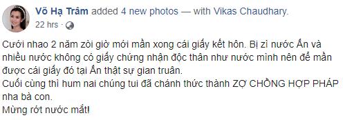 Hari Won tiet lo moi dang ky ket hon cung Tran Thanh