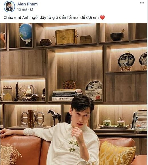 'Hotgirl tham my' len tieng 'canh cao' Alan Pham tha thinh vu vo