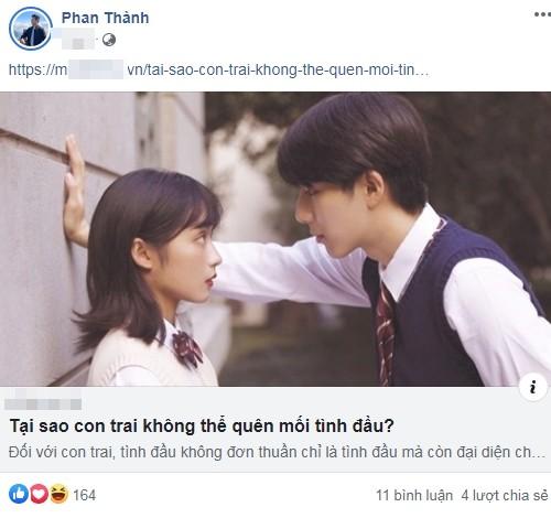 Phan Thanh van khong the quen tinh dau Midu sau 6 nam