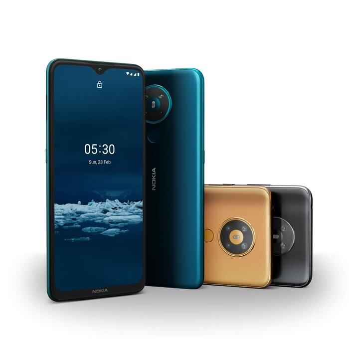 Smartphone gia thap Nokia 5.3 chinh thuc ra mat tai VN-Hinh-4