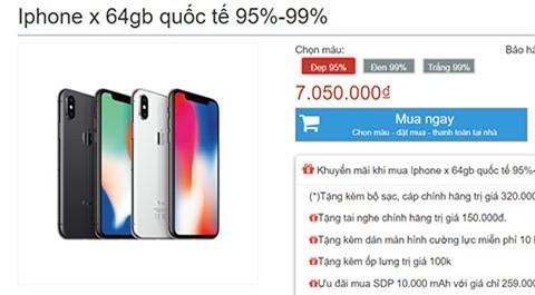 iPhone X dep long lanh, giam gia 'kich san' tai Viet Nam-Hinh-2