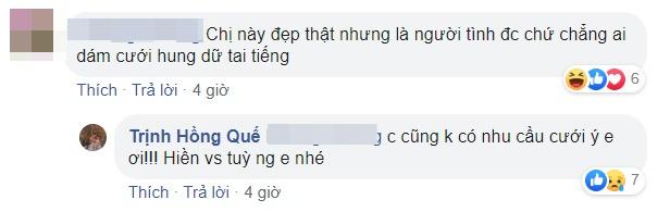 Hong Que dap tra khi bi mia mai kho lay chong