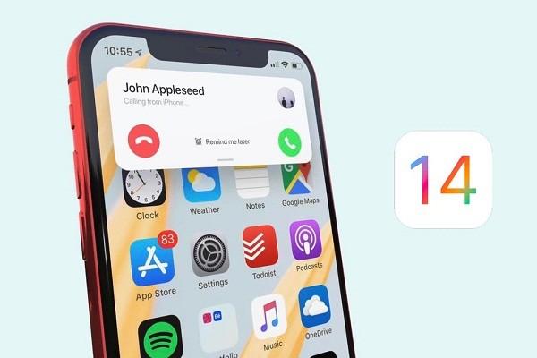 Pop-up cuoc goi den, don gian vay ma gio moi co tren iOS 14