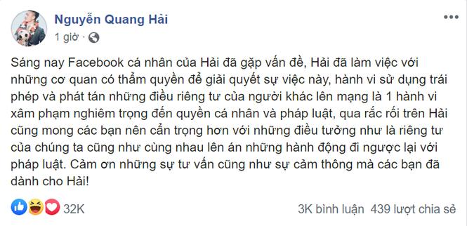 """Tranh cai viec cong dong mang """"bao like"""" cho hacker vu Quang Hai-Hinh-2"""