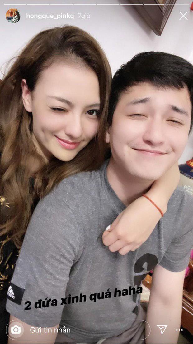 """Hong Que an y """"noi lai tinh xua"""" voi bo cua con gai-Hinh-5"""