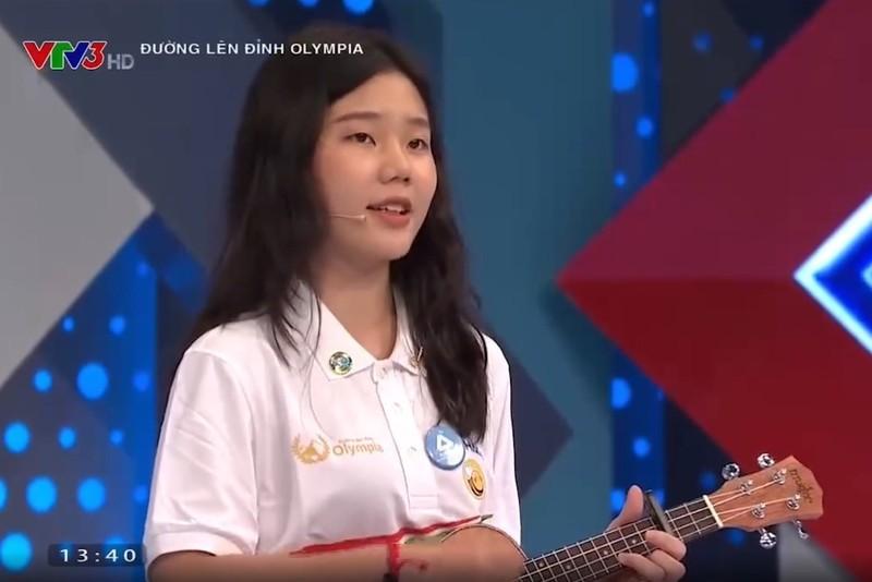 Nu sinh gay sot 'Duong len dinh Olympia' xinh xan-Hinh-2