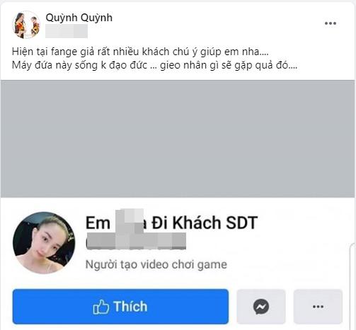 Vo Le Duong Bao Lam bi gia mao tai khoan 'di khach'