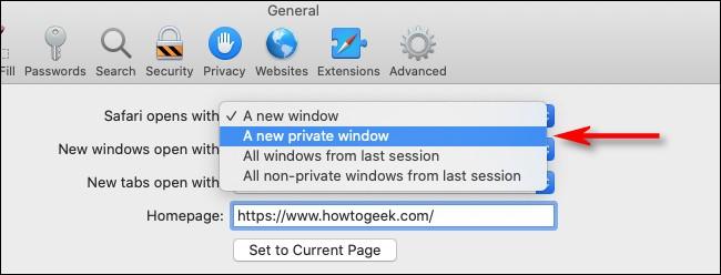 Cach de Safari tren macOS luon vao che do duyet web rieng tu-Hinh-4
