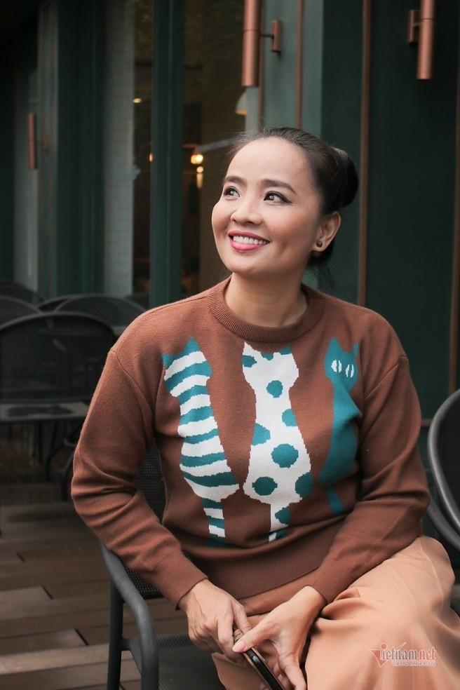 Hoai An 'Nguoi dep Tay Do' va qua khu dam nuoc mat-Hinh-11