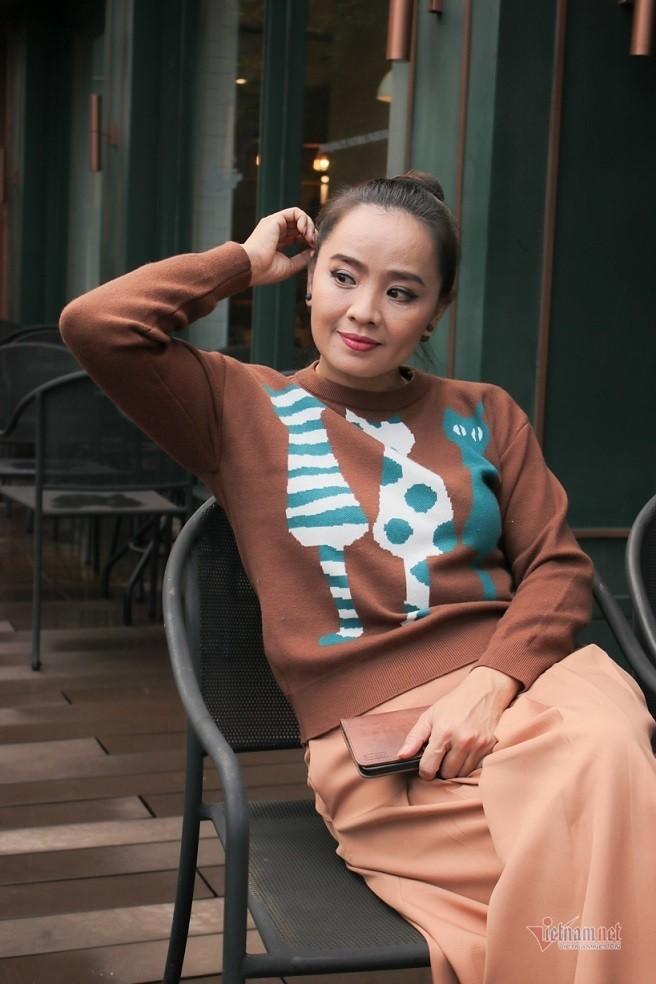 Hoai An 'Nguoi dep Tay Do' va qua khu dam nuoc mat-Hinh-12