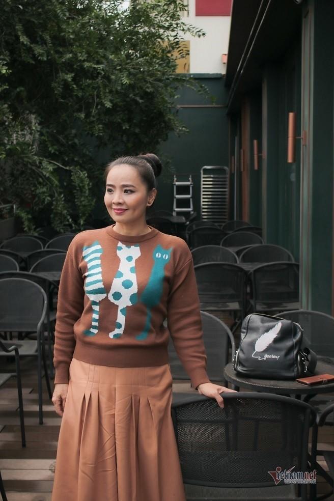 Hoai An 'Nguoi dep Tay Do' va qua khu dam nuoc mat-Hinh-13
