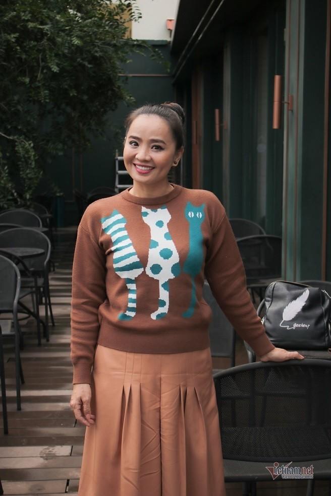 Hoai An 'Nguoi dep Tay Do' va qua khu dam nuoc mat-Hinh-14