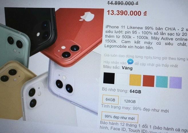 co nen mua iPhone 11 xach tay gia re tran ve Viet Nam