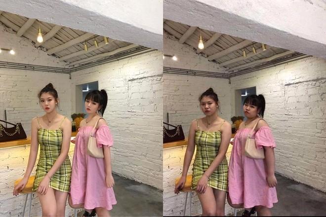 Hot girl bi chup len, ngoai hinh hoan hao tren mang do chinh sua-Hinh-3