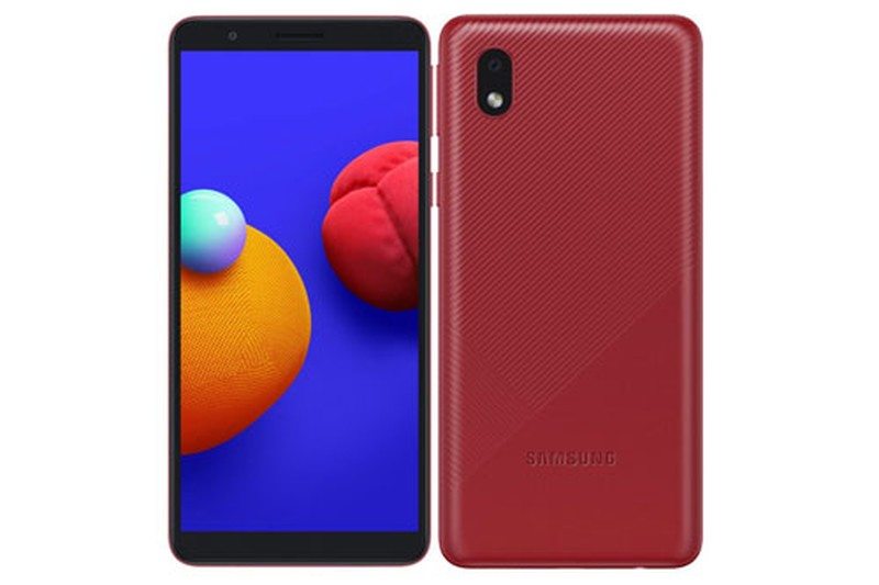 Samsung Galaxy M01 Core: Chay Android Go, gia re bat ngo
