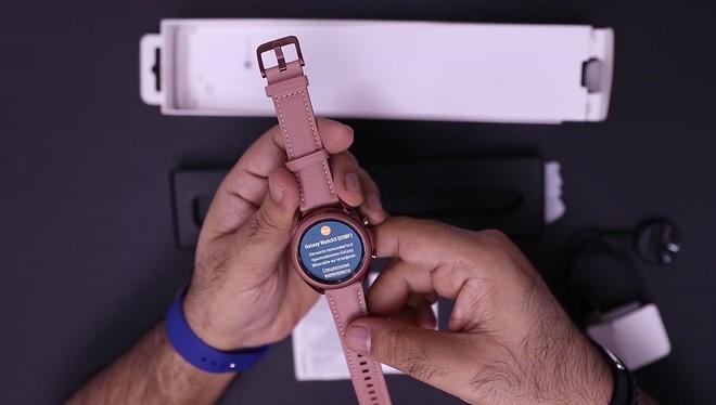 Lộ diện hình ảnh Galaxy Watch 3 trước ngày ra mắt