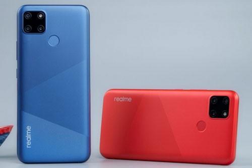 Realme C12 chong nuoc, pin 6.000 mAh, 3 camera sau-Hinh-3