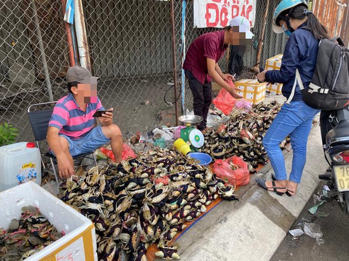 Cua Ca Mau 50.000 dong/3 con ban day duong, 'bao an'-Hinh-2