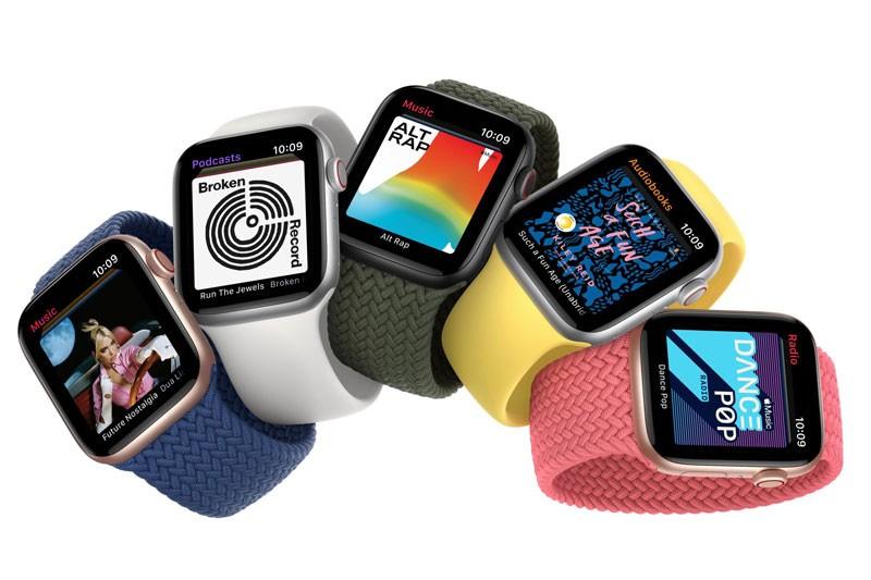 Gia ban Apple Watch Series 6 va Apple Watch SE tai Viet Nam