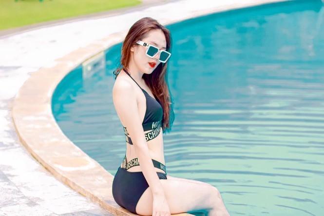 Nu sinh thi Hoa hau Viet Nam dep