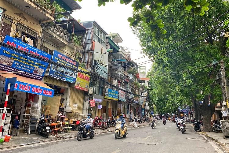 """Cận cảnh 5 tuyến đường """"đắt giá nhất hành tinh"""" ở Hà Nội, có nơi lên tới 3,1 tỉ đồng/m2 - 2"""