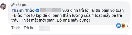 Thanh Thao tuc gian khi bi chi trich loi dung con trai Ngo Kien Huy-Hinh-4